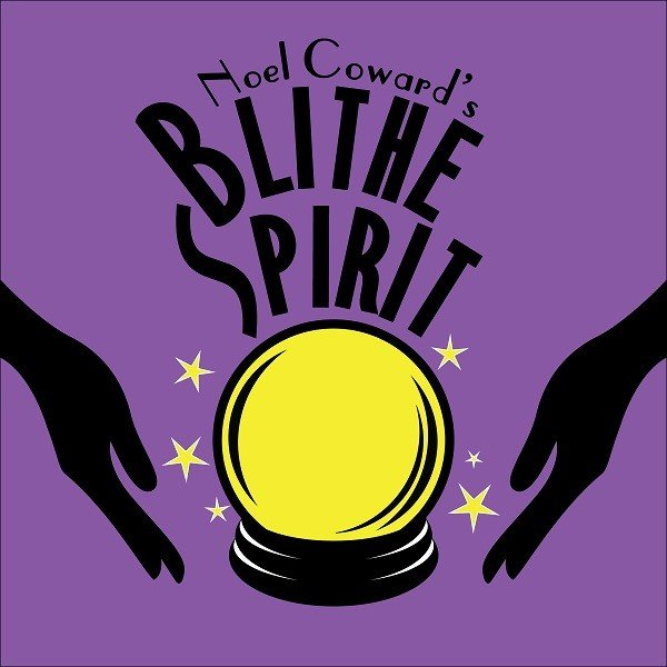 Image with text: Noel Coward's Blithe Spirit