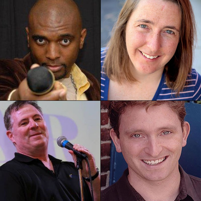 From left clockwise: Corey Manning, Janet McNamara, Steve Donovan and Dave Rattigan